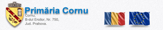 Primăria Cornu – Site vechi